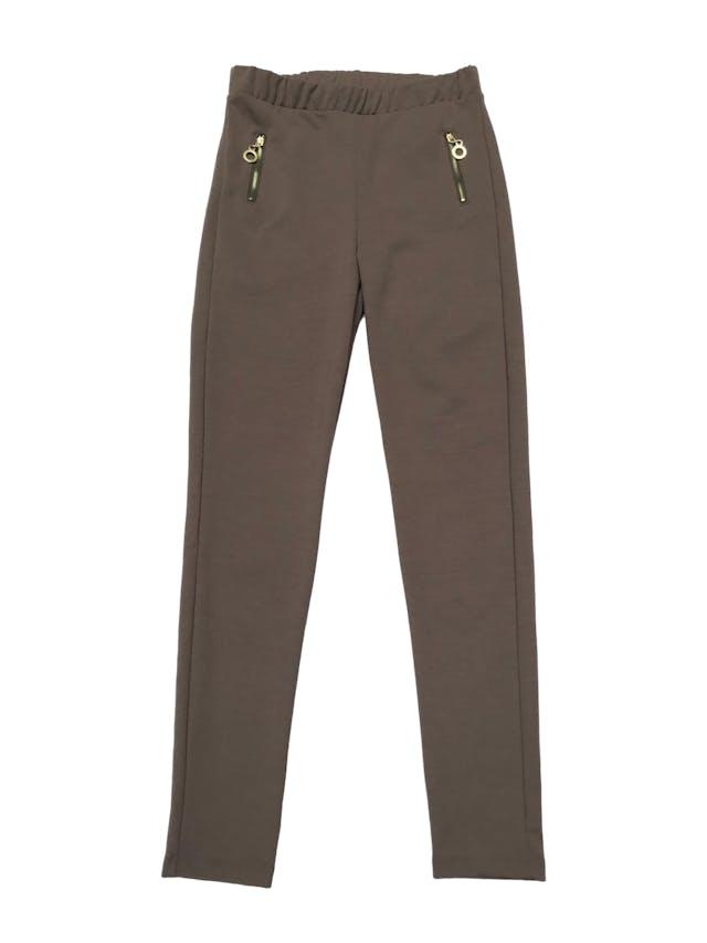 Legging de tela tipo algodón stretch grueso, con cierre a los lados. Cintura 68cm sin estirar Largo 95cm foto 1