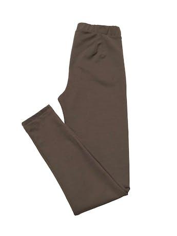 Legging de tela tipo algodón stretch grueso, con cierre a los lados. Cintura 68cm sin estirar Largo 95cm foto 3