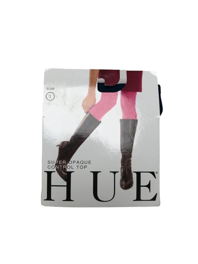 Panties Hue super Opaque control top. Color cosmos. Nueva empaquetada foto 1
