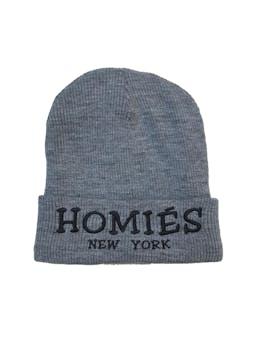 Beanie gris acanaldo Homiés New York foto 1