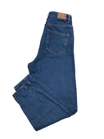 Slouchy jean Zara 100% algodón, tiro alto, modelo five pockets. Cintura 62cm Cadera 90cm Largo 98cm foto 2