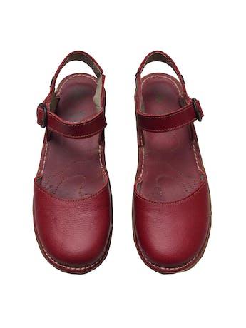 Zapatos El Naturalista de cuero correa al tobillo, suela de caucho 4cm. Nuevos. Precio original S/ 450 foto 2