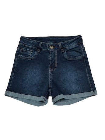 Short jean stretch de tiro alto. Cintura 62cm sin estirar Largo 30cm foto 1